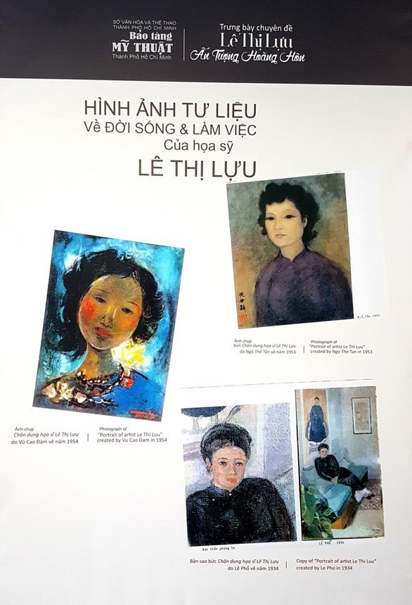 Xem tranh tại triển lãm Lê Thị Lựu - Ấn tượng hoàng hôn - Ảnh 14.