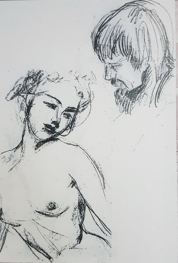 Xem tranh tại triển lãm Lê Thị Lựu - Ấn tượng hoàng hôn - Ảnh 18.