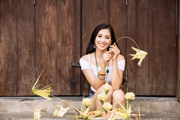 Hoa hậu Tiểu Vy kể về mẹ bằng tiếng Anh tại Miss World - Ảnh 3.