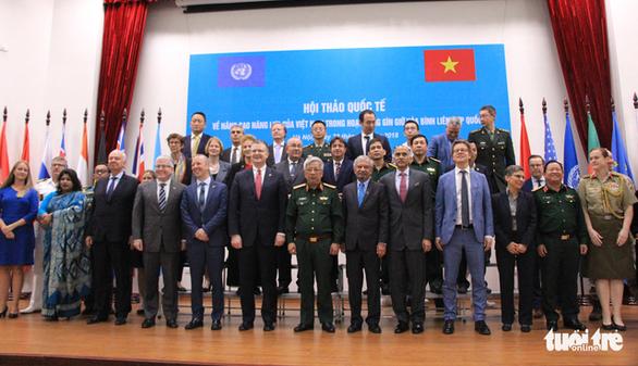 Việt Nam có thể gửi công binh tham gia gìn giữ hòa bình Liên Hiệp Quốc - Ảnh 1.