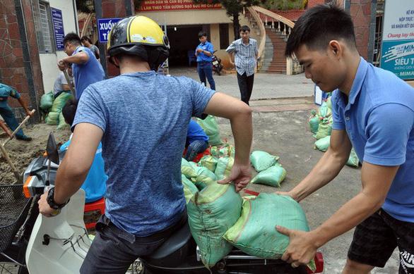 Ninh Thuận, Vũng Tàu, các tỉnh miền Tây dồn lực chống bão - Ảnh 5.