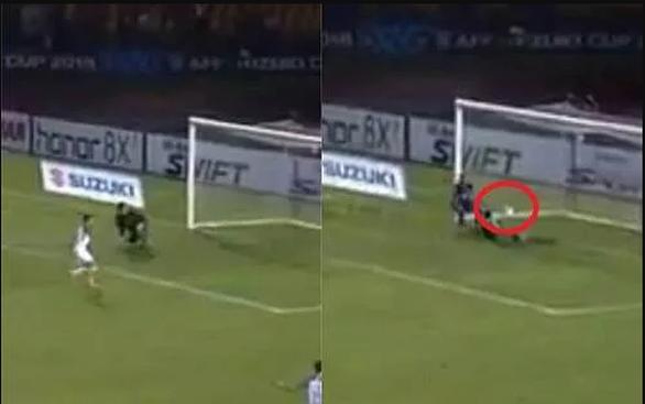 Thủ môn Thái Lan có đấm bóng vào lưới nhà trong trận gặp Philippines? - Ảnh 1.