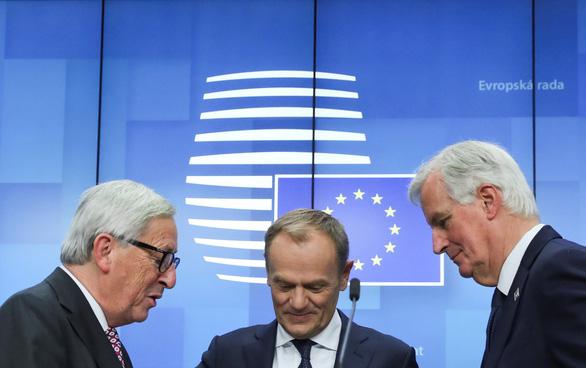 EU thông qua thỏa thuận chia tay bi kịch với nước Anh - Ảnh 3.