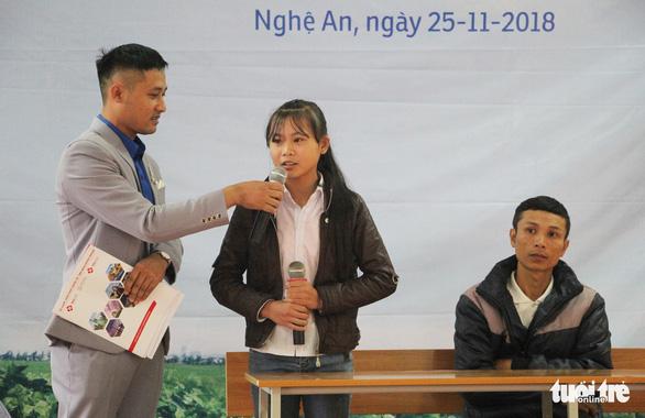 Trao thưởng Tiếp sức con nhà nông đến trường tại Nghệ An - Ảnh 2.