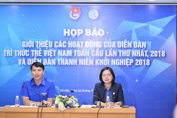 Hơn 200 trí thức trẻ Việt ở nước ngoài dự diễn đàn Trí thức trẻ toàn cầu - Ảnh 1.