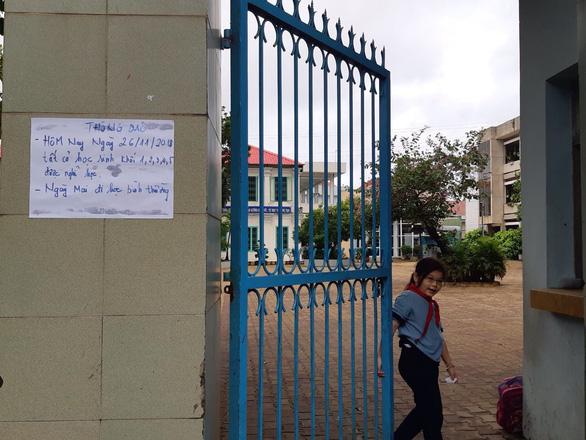 Thời tiết xấu, Biên Hòa chủ động cho học sinh nghỉ học - Ảnh 2.