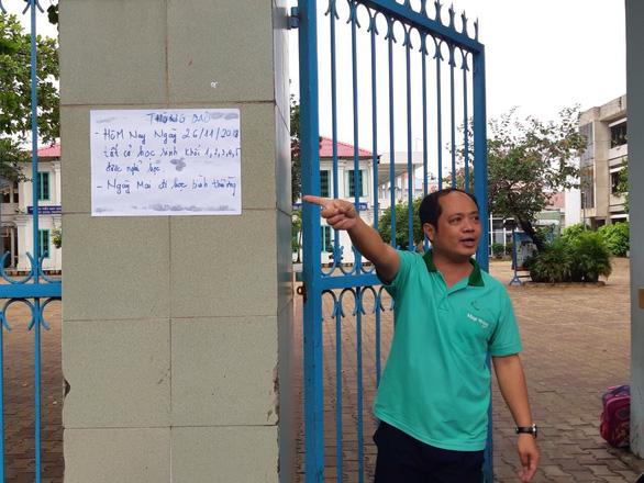 Thời tiết xấu, Biên Hòa chủ động cho học sinh nghỉ học - Ảnh 3.