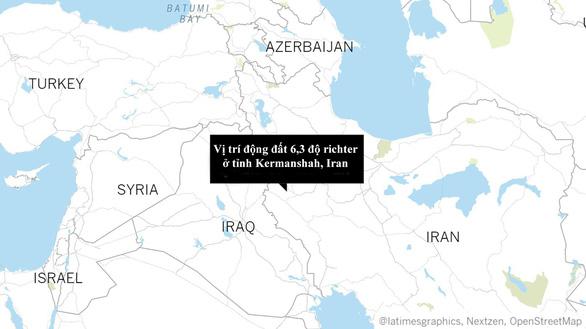 Động đất mạnh ở Iran, hơn 600 người bị thương - Ảnh 1.