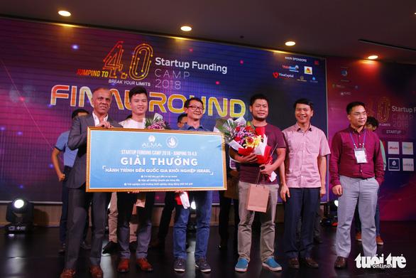Ứng dụng giúp việc nhà, quản lý chung cư thắng giải Startup - Ảnh 1.