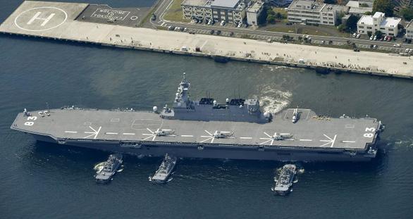 Nhật muốn độ tàu khu trục thành tàu sân bay - Ảnh 1.