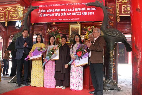 Cháu ngoại GS Phan Huy Lê nhận giải nhất giải thưởng Phạm Thận Duật - Ảnh 4.