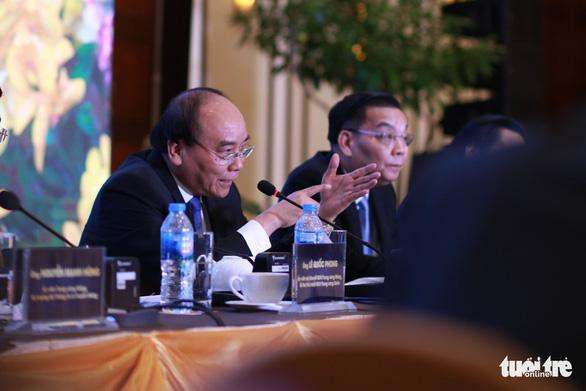 Thủ tướng Nguyễn Xuân Phúc đối thoại với người trẻ khởi nghiệp - Ảnh 6.