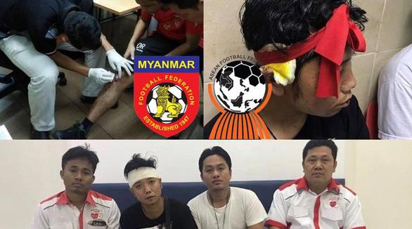 Cổ động viên bị tấn công, Myanmar gửi đơn kiện lên AFF - Ảnh 1.