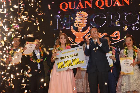 Phạm Thị Phương Thảo giành giải nhất Micro vàng 2018 - Ảnh 1.
