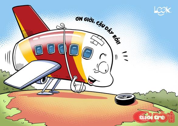 Vụ máy bay Vietjet: Ơn giời cậu đây rồi