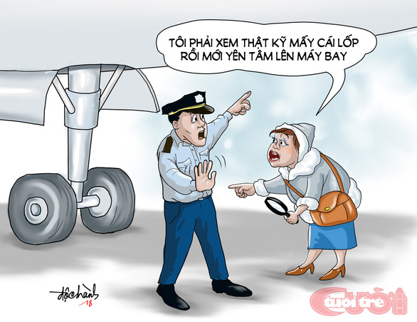 Máy bay mất bánh, hú hồn mà hài hước - Ảnh 3.
