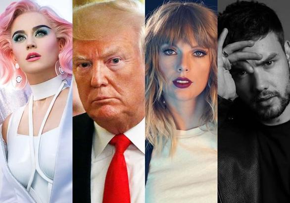 Vượt ông Trump, Taylor Swift có ảnh hưởng nhất Twitter 2018 - Ảnh 1.