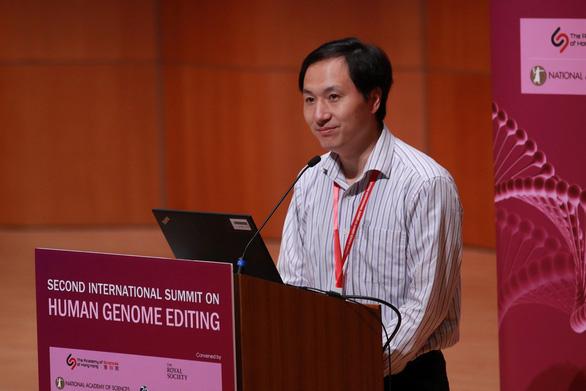 Chính phủ Trung Quốc lệnh tạm dừng nghiên cứu chỉnh sửa gen - Ảnh 1.