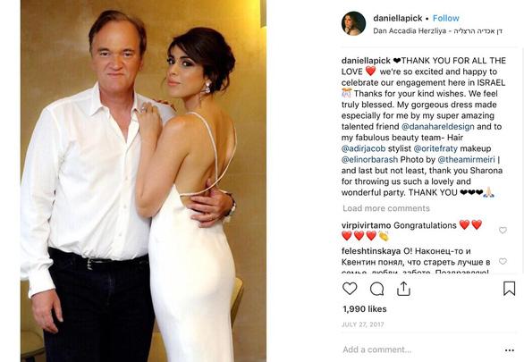 Quentin Tarantino kết hôn với người mẫu Israel - Ảnh 3.