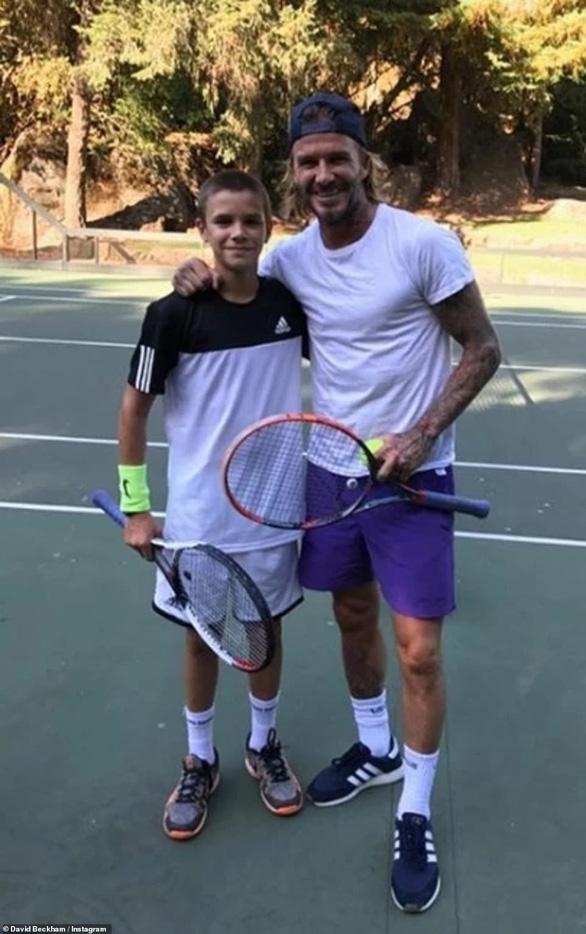 Quý tử Romeo được đầu tư thành Beckham quần vợt - Ảnh 3.