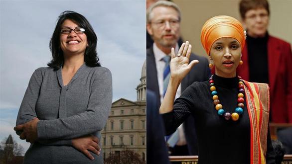 Hai phụ nữ Hồi giáo đầu tiên được bầu vào Quốc hội Mỹ là ai? - Ảnh 1.