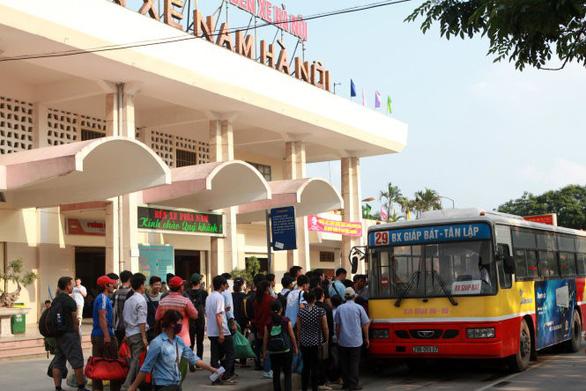 Bộ GTVT phản đối Hà Nội xây mới bến xe trong thời gian quá độ - Ảnh 1.