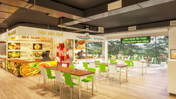 Sắp có khu foodcourt 2.000m2 tại Đà Lạt dành riêng cho du khách - Ảnh 3.