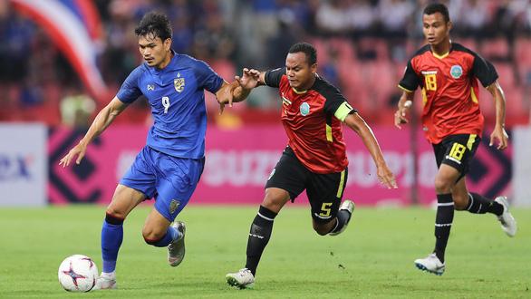 Adisak ghi 6 bàn, Thái Lan vùi dập Đông Timor - Ảnh 1.