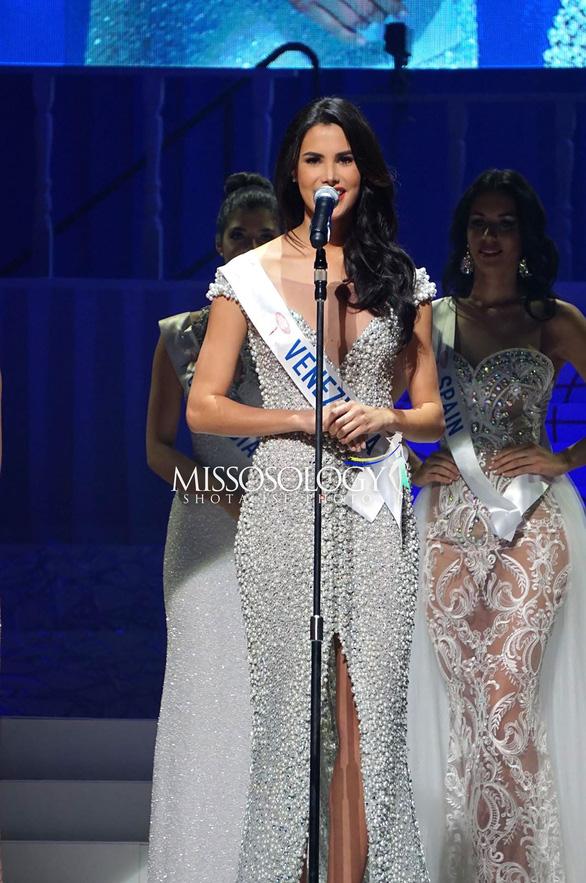 Thùy Tiên trượt top 15, Venezuela đăng quang Miss International 2018 - Ảnh 3.