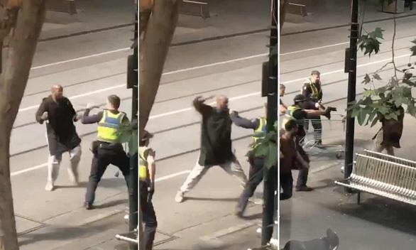 Đâm người hàng loạt tại trung tâm Melbourne - Ảnh 1.