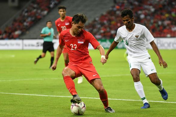 Singapore thắng sát nút Indonesia trong trận cầu đầy căng thẳng - Ảnh 1.