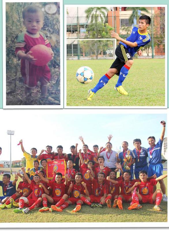 Loạt ảnh bé thơ đốn tim fan nữ của U23 Việt Nam - Ảnh 12.
