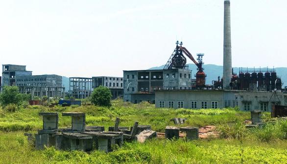 Nhà máy thép đầu tư dang dở, ngân hàng ôm nợ - Ảnh 2.