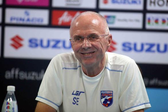 HLV Eriksson: Chúng tôi tôn trọng nhưng không sợ tuyển Việt Nam - Ảnh 2.