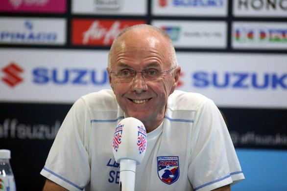 HLV Eriksson: Chúng tôi tôn trọng nhưng không sợ tuyển Việt Nam - Ảnh 1.