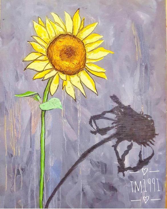Hàng ngàn đóa hoa hướng dương trên mạng xã hội tặng bệnh nhi - Ảnh 2.