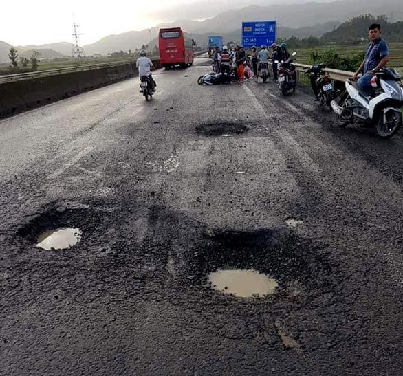 Phú Yên: 1 người chết oan vì sụp ổ voi trên quốc lộ 1 - Ảnh 1.