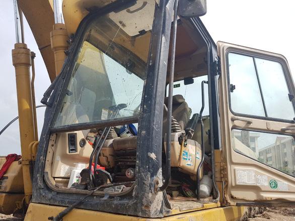 Nổ lớn tại công trình san lấp mặt bằng, 2 người bị thương - Ảnh 1.