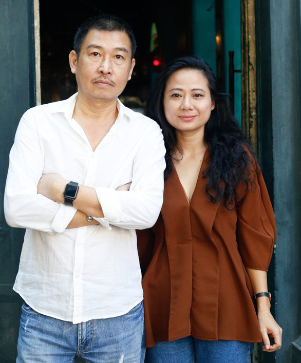 Ca sĩ Giang Trang, họa sĩ Lê Thiết Cương cùng chơi nhạc Trịnh lần cuối - Ảnh 1.