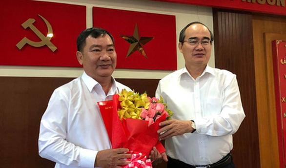 Ông Trần Văn Thuận giữ chức bí thư Quận ủy quận 2 - Ảnh 1.