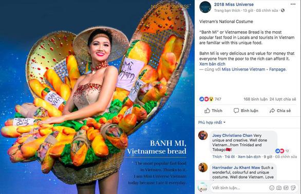 'Bánh mì' của H'Hen Niê được chọn là 1 trong 4 trang phục dân tộc hấp dẫn - Ảnh 1.