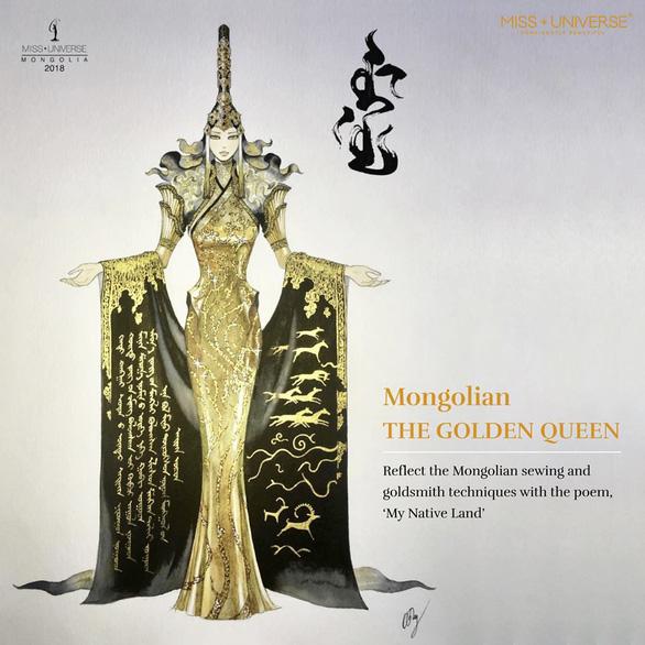 'Bánh mì' của H'Hen Niê được chọn là 1 trong 4 trang phục dân tộc hấp dẫn - Ảnh 2.