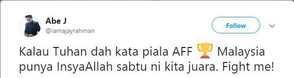 Hòa Việt Nam, CĐV Malaysia khen nức nở cầu thủ đội nhà - Ảnh 3.