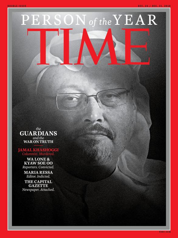 Tạp chí Time vinh danh các nhà báo là Nhân vật của năm - Ảnh 1.