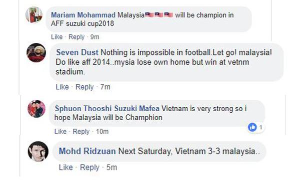 Hòa Việt Nam, CĐV Malaysia khen nức nở cầu thủ đội nhà - Ảnh 2.