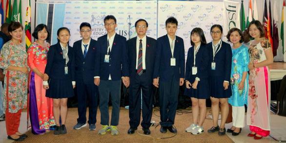 Kỳ thi Khoa học trẻ quốc tế 2018: Việt Nam có 4 Vàng, 2 Bạc - Ảnh 1.