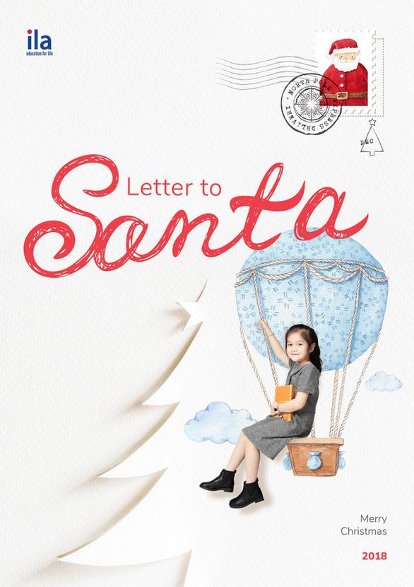 """ILA mừng Giáng Sinh cùng cuộc thi """"Thư gửi Ông già Noel"""" - Ảnh 2."""