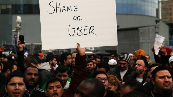 Uber phải trả lương tối thiểu cho tài xế ở New York - Ảnh 1.