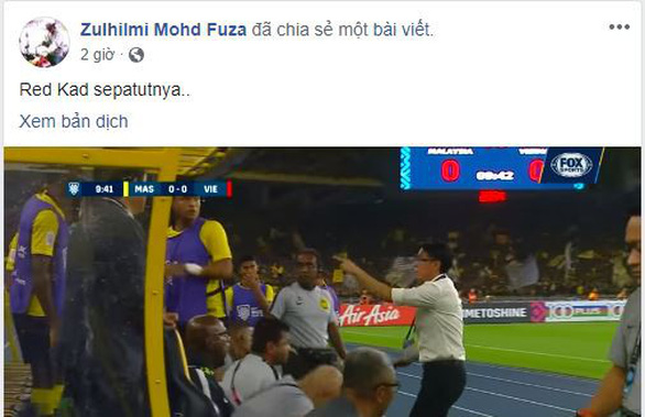 Người hâm mộ Malaysia căng thẳng với Duy Mạnh - Ảnh 5.