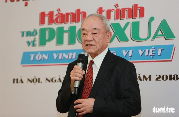 Xác lập 12-12 là Ngày của phở Việt Nam - Ảnh 2.